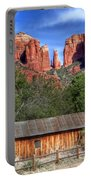 0682 Red Rock Crossing - Sedona Arizona Portable Battery Charger by Steve Sturgill