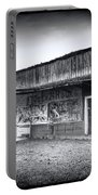 0706 Jerome Ghost Town Black And White Portable Battery Charger