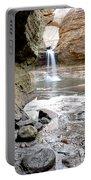 0941 Cascade Falls - Matthiessen State Park Portable Battery Charger