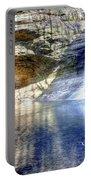 0943 Cascade Falls - Matthiessen State Park Portable Battery Charger