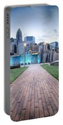 New Romare-bearden Park In Uptown Charlotte North Carolina Earl Portable Battery Charger