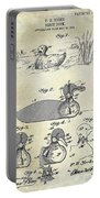 1902 Duck Decoy Patent Drawing Portable Battery Charger