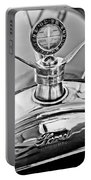 1923 Ford Model T Hood Ornament Portable Battery Charger by Jill Reger