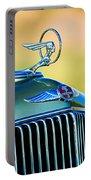 1933 Pontiac Hood Ornament - Emblem Portable Battery Charger