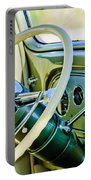 1933 Pontiac Steering Wheel -0463c Portable Battery Charger
