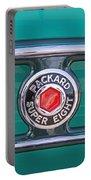 1934 Packard Super 8 Emblem Portable Battery Charger