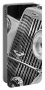 1939 Aston Martin 15-98 Abbey Coachworks Swb Sports Grille Emblems Portable Battery Charger