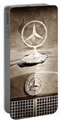 1953 Mercedes Benz Hood Ornament Portable Battery Charger