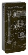 1955 Gibson Les Paul Patent Drawing Portable Battery Charger