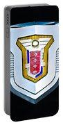 1955 Mercury Montclair Convertible Emblem Portable Battery Charger