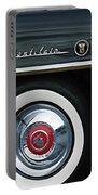 1955 Mercury Montclair Convertible Wheel Emblem Portable Battery Charger