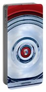1956 Ford Thunderbird Spare Tire Emblem Portable Battery Charger