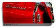 1956 Ford Thunderbird Taillight Emblem Portable Battery Charger