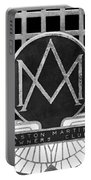 1957 Aston Martin Owner's Club Emblem Portable Battery Charger by Jill Reger