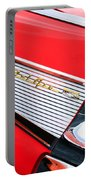 1957 Chevrolet Belair Convertible Taillight Emblem Portable Battery Charger
