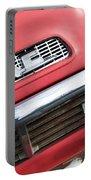 1957 Gmc V8 Pickup Truck Grille Emblem Portable Battery Charger