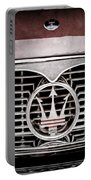 1958 Maserati Hood - Grille Emblem Portable Battery Charger