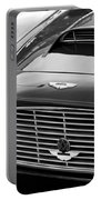 1960 Aston Martin Db4 Grille Emblem Portable Battery Charger by Jill Reger