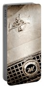 1960 Nash Metropolitan Hood Ornament - Grille Emblem Portable Battery Charger