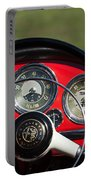 1961 Alfa-romeo Giulietta Spider Steering Wheel Emblem Portable Battery Charger