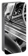 1962 Dodge Polara 500 Side Emblem - Steering Wheel Portable Battery Charger