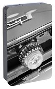1962 Plymouth Fury Taillights And Emblem Portable Battery Charger