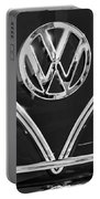 1964 Volkswagen Vw Double Cab Emblem Portable Battery Charger