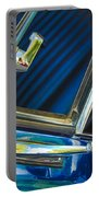 1967 Chevrolet Camaro Ss 350 Rear View Mirror Emblem Portable Battery Charger