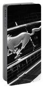 1967 Ford Mustang Gt Grille Emblem Portable Battery Charger
