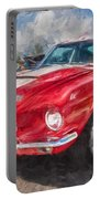 1967 Ford Shelby Mustang Gt500 Painted  Portable Battery Charger