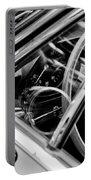 1969 Lamborghini Islero Steering Wheel Emblem Portable Battery Charger
