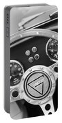 1972 Ginetta Steering Wheel Emblem Portable Battery Charger