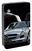 Mercedes Benz S L S  Gull-wing Portable Battery Charger