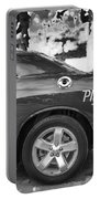 2010 Plymouth Superbird Bw  Portable Battery Charger