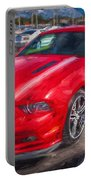 2013 Ford Mustang Gt Cs Painted  Portable Battery Charger