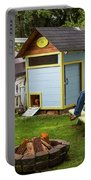 A Backyard Chicken Coop In Bellingham Portable Battery Charger