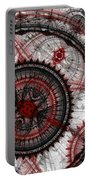 Abstract Mechanical Fractal Portable Battery Charger by Martin Capek