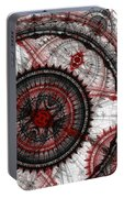 Abstract Mechanical Fractal Portable Battery Charger
