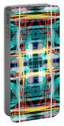 Abstract Pattern 5 Portable Battery Charger