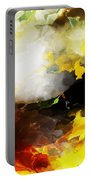 Abstract Under Glass Portable Battery Charger