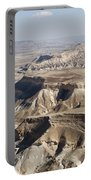 1-aerial Photography Of The Negev  Portable Battery Charger