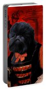 Affenpinscher Art By Nobility Dogs Portable Battery Charger