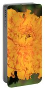 African Marigold Named Crackerjack Gold Portable Battery Charger