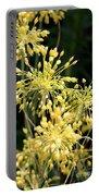 Allium Flavum Or Fireworks Allium Portable Battery Charger