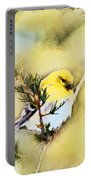 American Goldfinch - Digital Paint Portable Battery Charger
