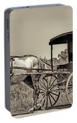 Amish Boy Tips Hat Portable Battery Charger