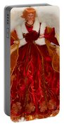 Angel Christmas Card Portable Battery Charger