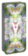 Angel Of Positive Thoughts Portable Battery Charger