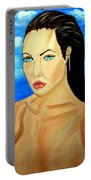 Angelina Jolie Portable Battery Charger