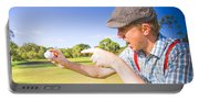 Angry Golf Portable Battery Charger